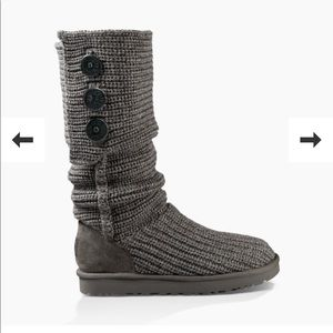 UGG CLASSIC CARDY BOOTS 9